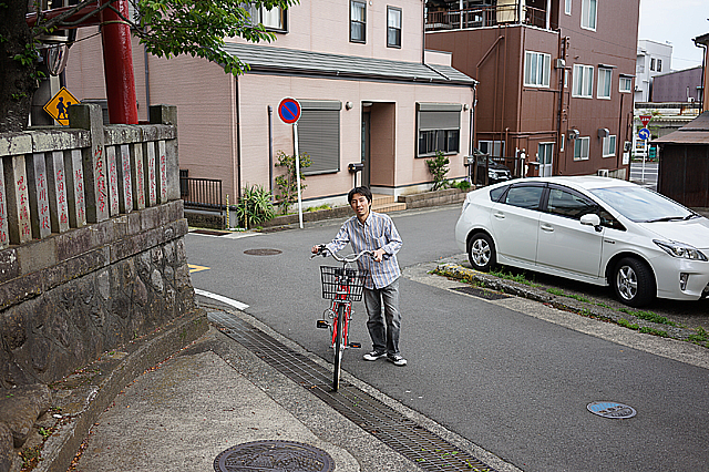 電動自転車と普通自転車乗り比べ 始まり