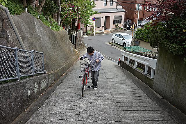 普通自転車 試走3