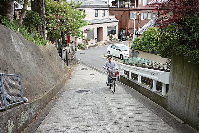 電動自転車 試走2