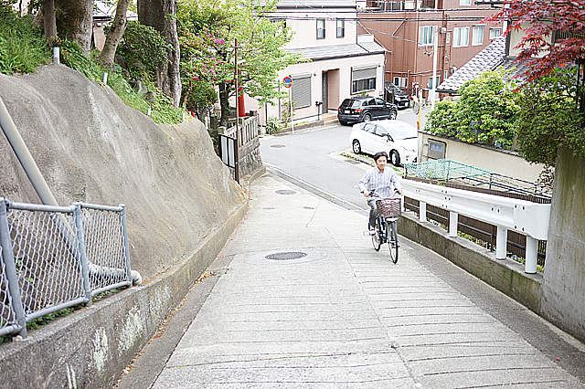 電動自転車 試走5