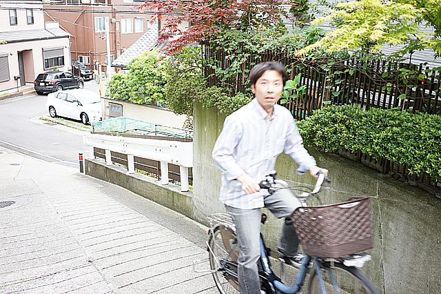 電動自転車 試走6