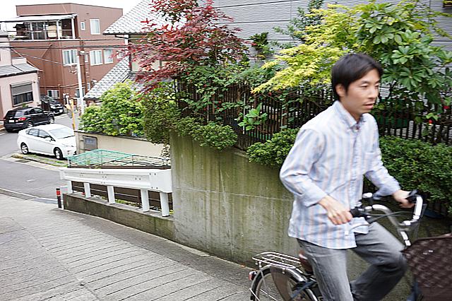 電動自転車 試走7