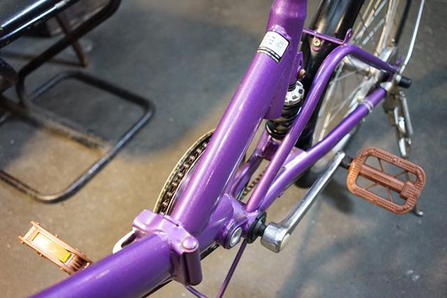 リサイクル自転車のボディ