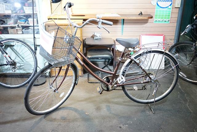 リサイクル自転車2台目