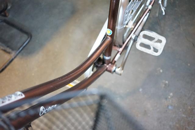 2台目のリサイクル自転車のボディ