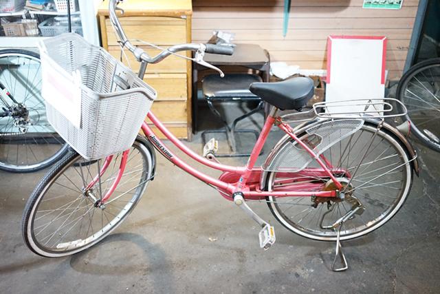 リサイクル自転車3台目