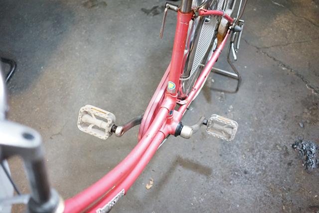 3台目のリサイクル自転車のボディ