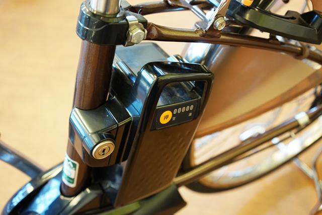 電動アシスト自転車のバッテリー